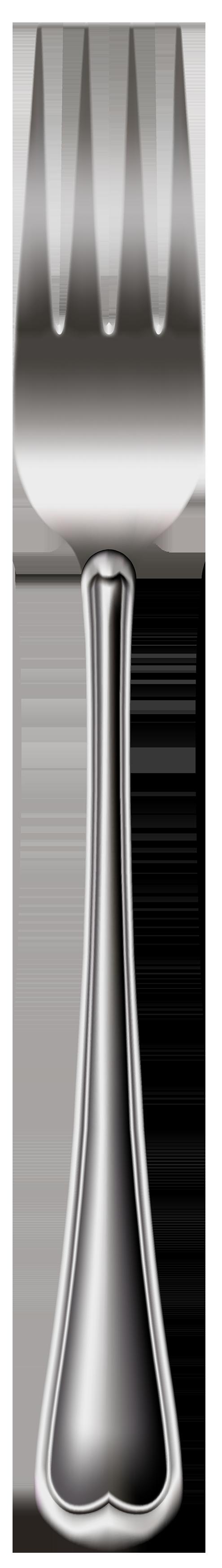 Elegant fork clipart web