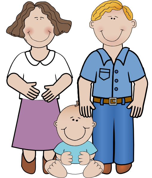 Family clip art free clipart images 3