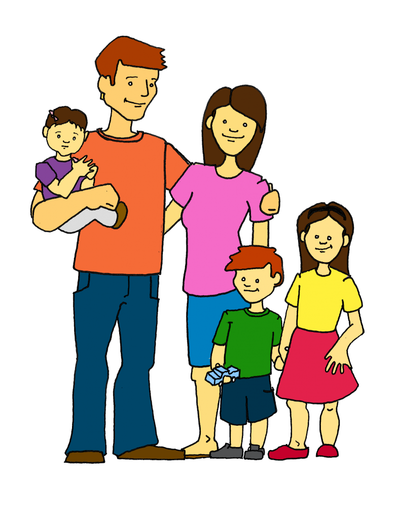 Family clip art free printable clipart images 2