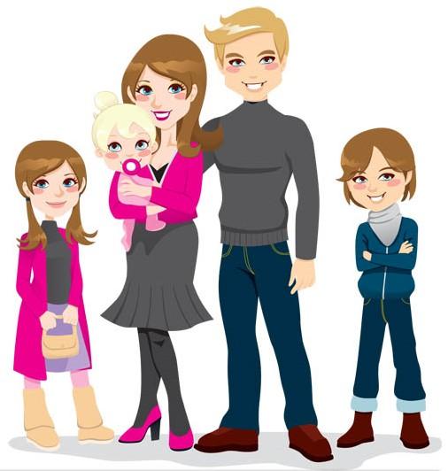 Family clipart idea 3