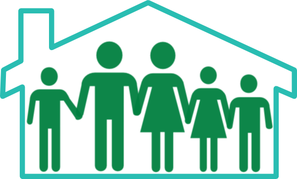 Family house clipart