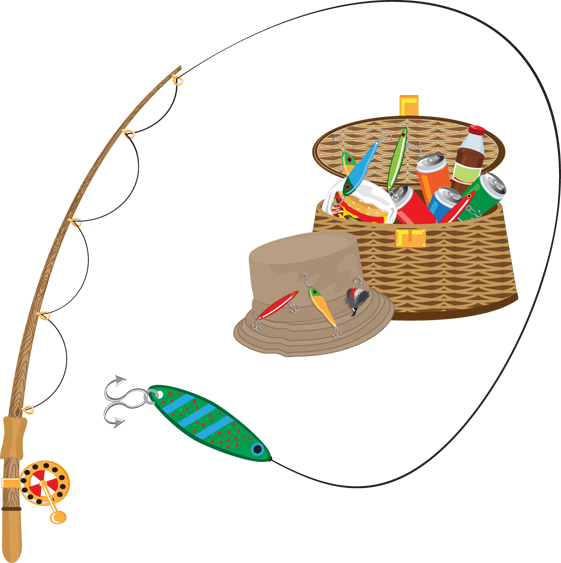 Fishing clip art birthday free clipart images 2