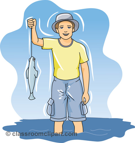 Fishing clip art for kids free clipart images