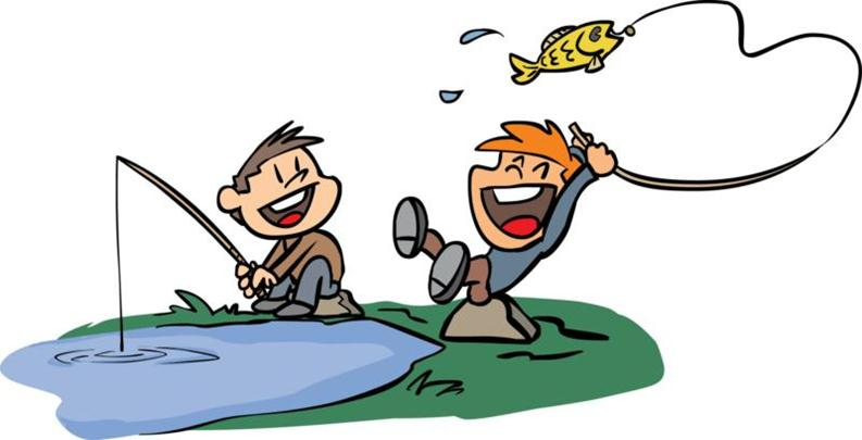 Fishing clip art free clipart images