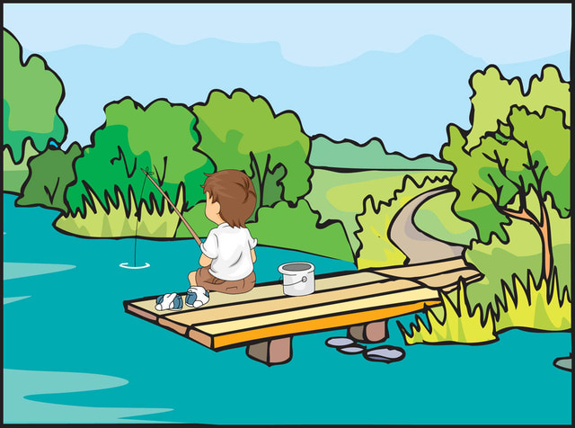 Fishing clipart images free