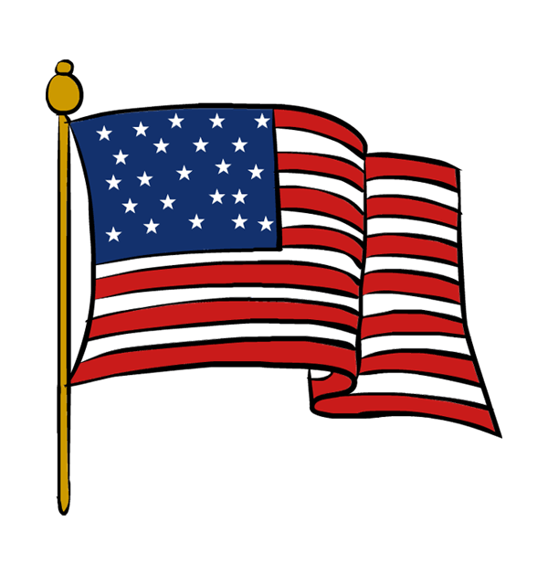 Flag clip art free clipart images 2 2