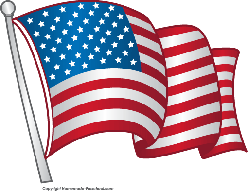 Flag clip art free clipart images