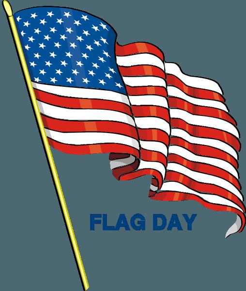 Flag clipart fans