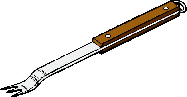Fork clip art 3