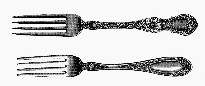 Fork clipart 5