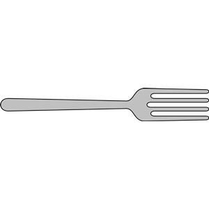 Fork clipart free clipartfest 2