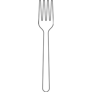 Fork clipart free clipartfest