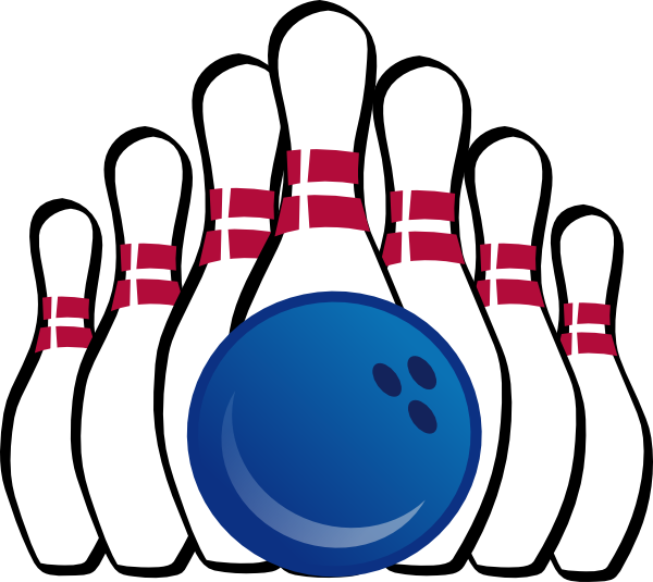Free bowling clipart printable images
