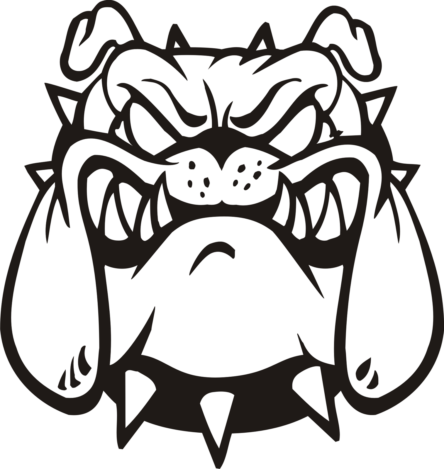 Free bulldog clipart pictures 6