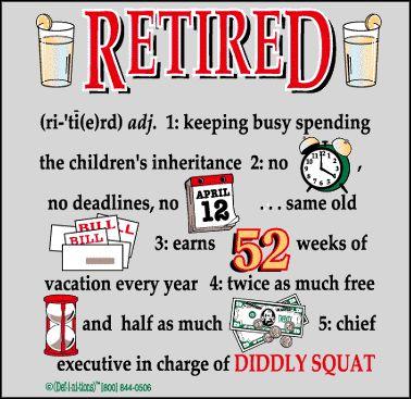 Free clip art retirement clipart 4