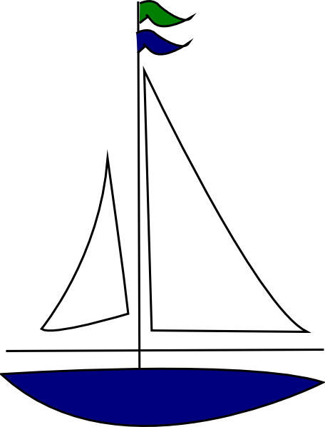 Free clip art sailboat clipartfest