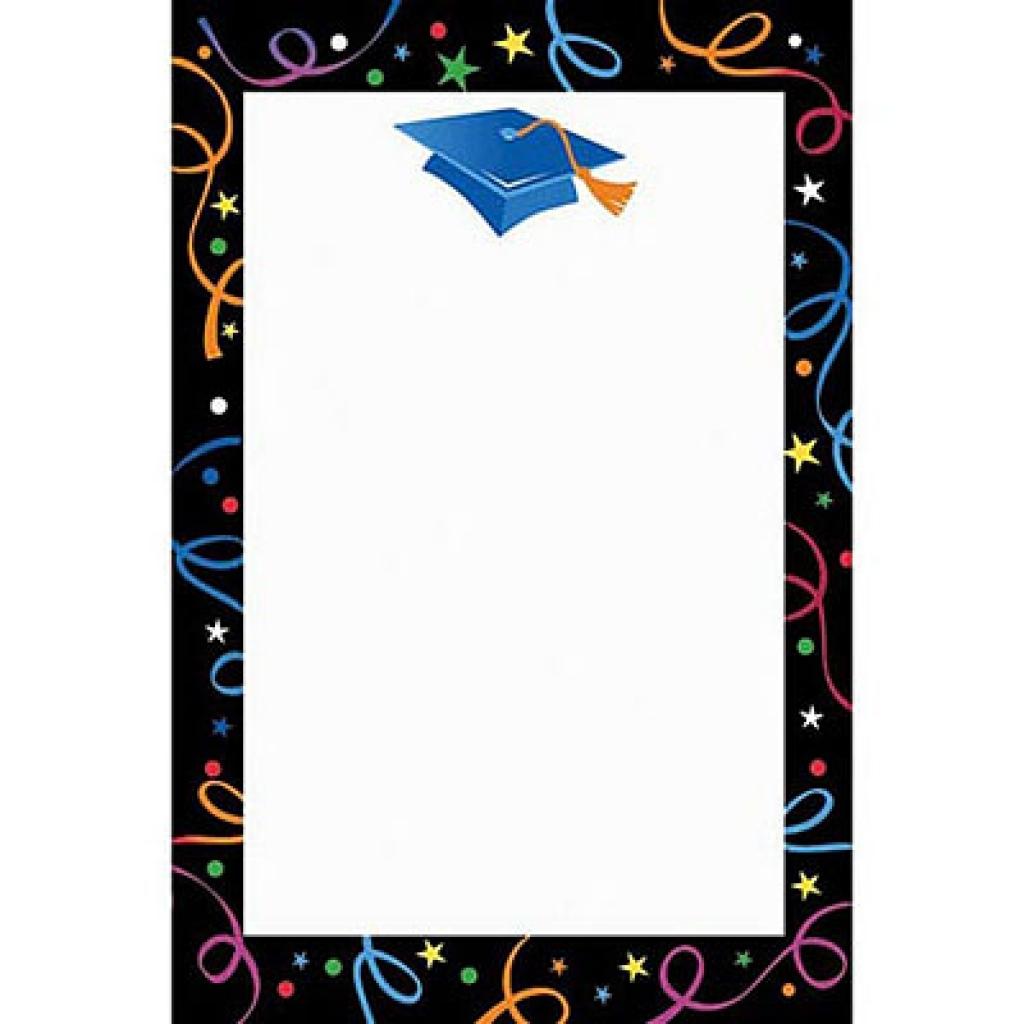 Free graduation clip art borders clipart for