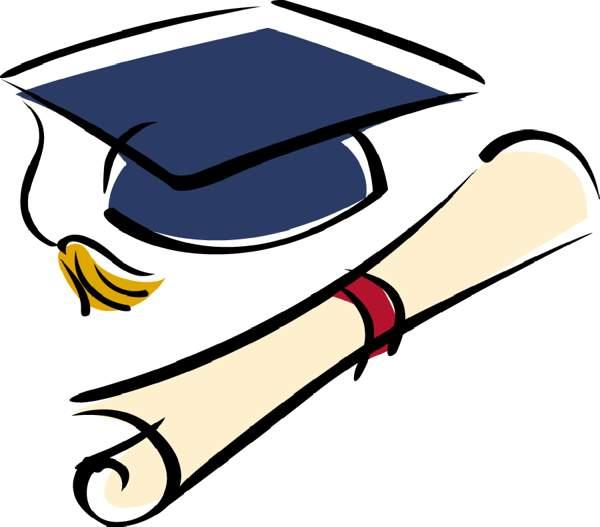 Free graduation clipart pictures