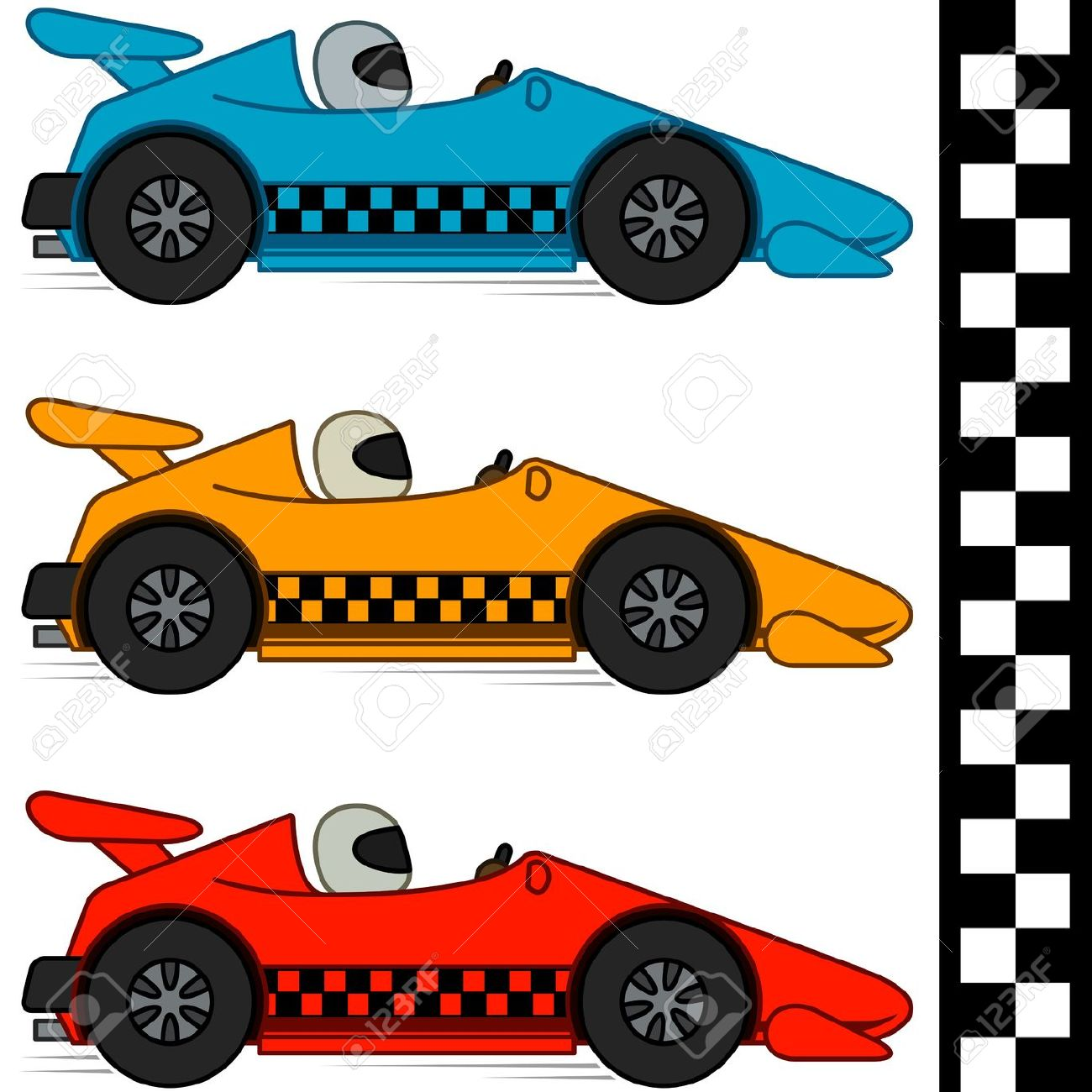Free race car clipart clipartfest