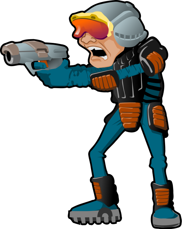 Free space police clip art