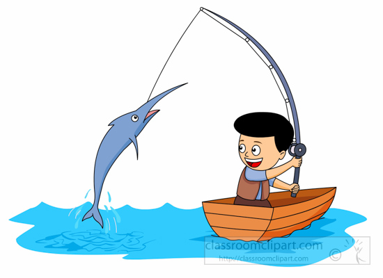 Free sports fishing clip art pictures graphics illustrations
