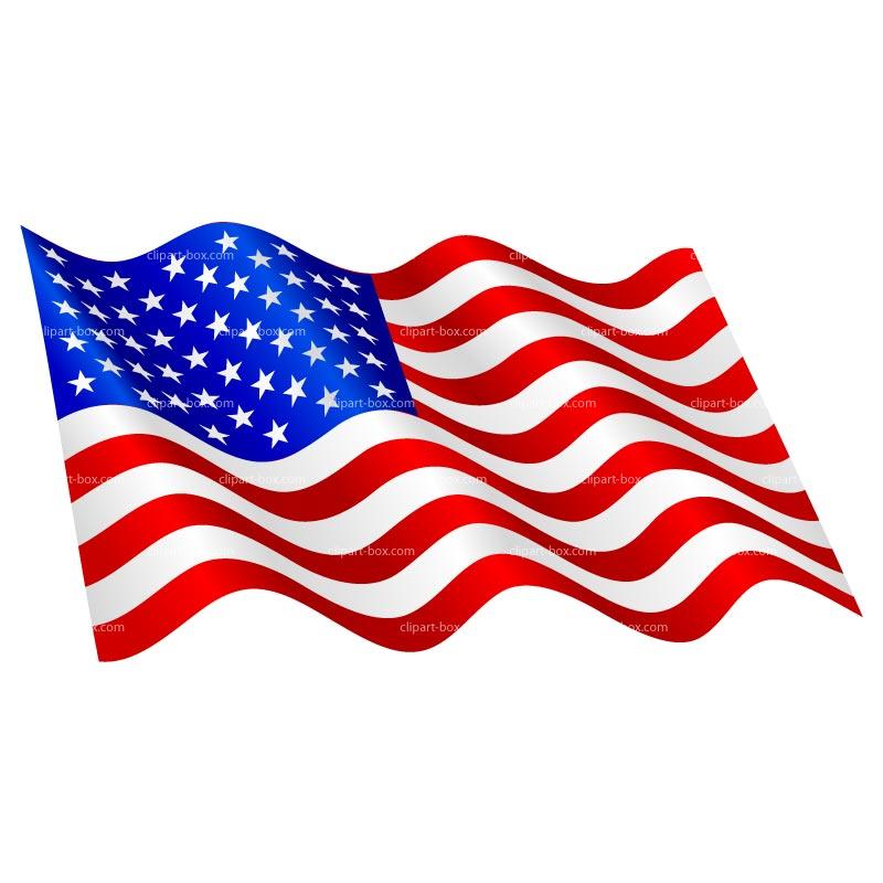Free us flag clip art clipartfest