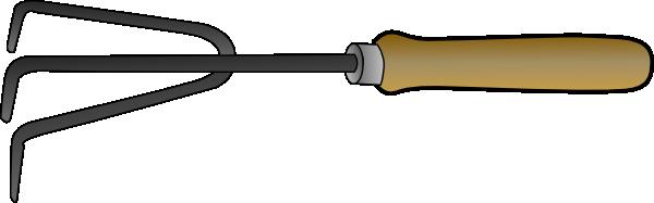 Gardening fork clip art free vector 4vector