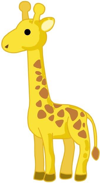 Giraffe clip art free clipart images 3