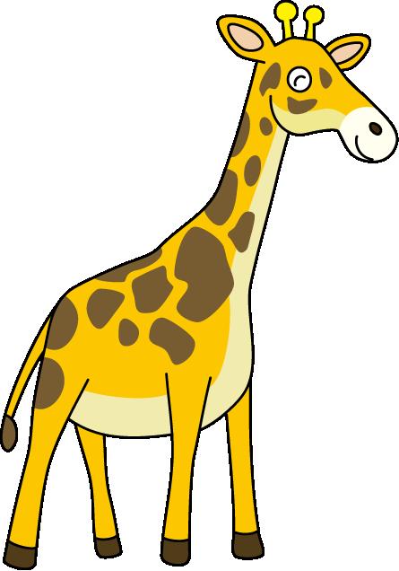 Giraffe clip art free clipart images 5