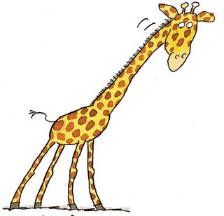 Giraffe clip art free clipart images 6