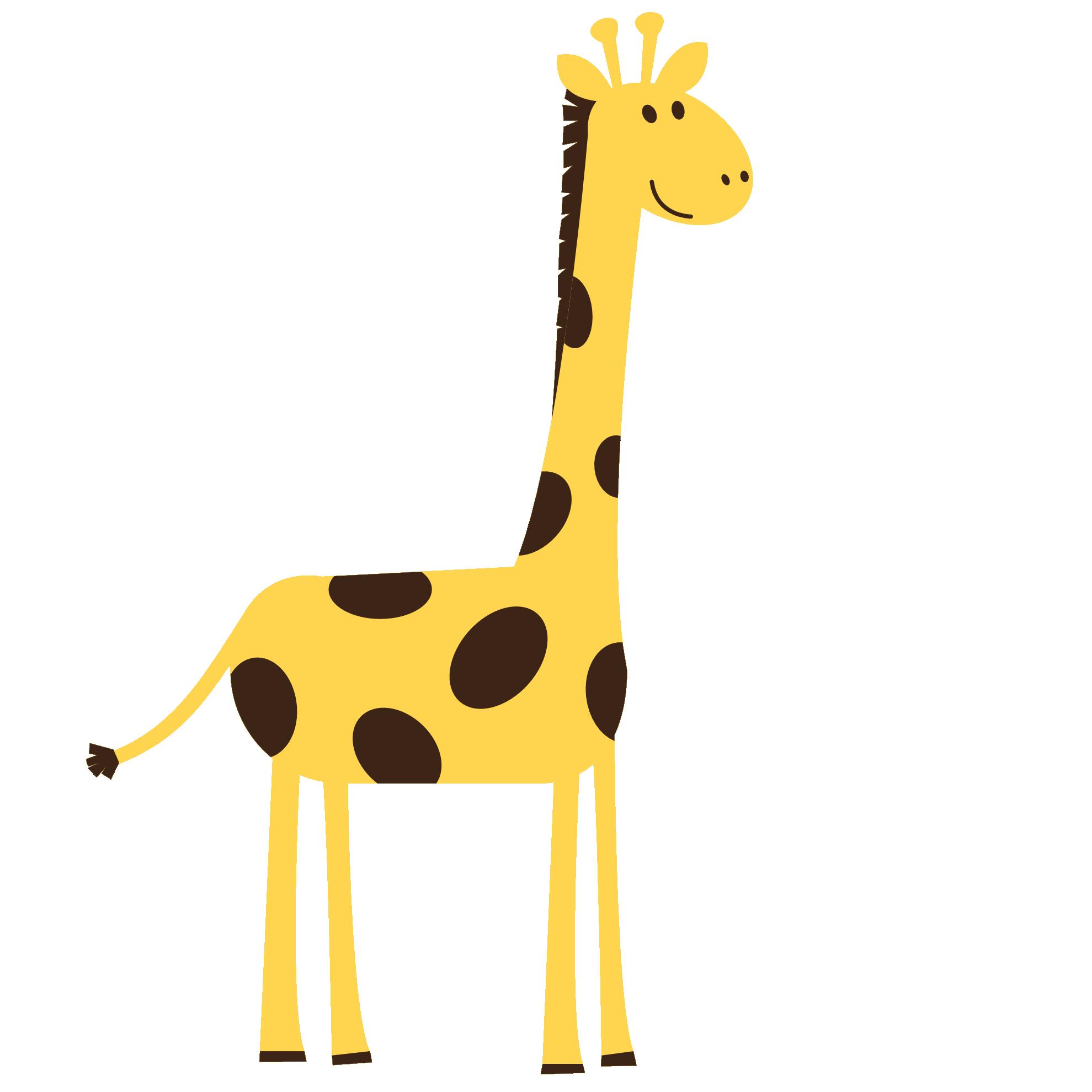 Giraffe clip art free clipart images