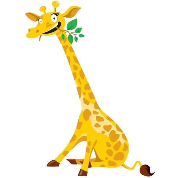 Giraffe clipart 0