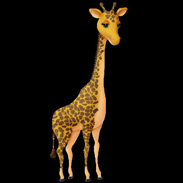 Giraffe images clipart 4