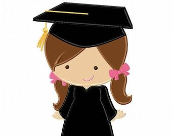 Girl graduation clipart 2