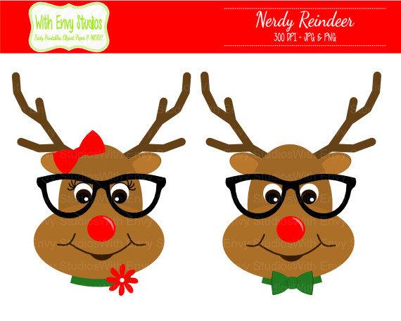 Girl reindeer clipart clipartfest