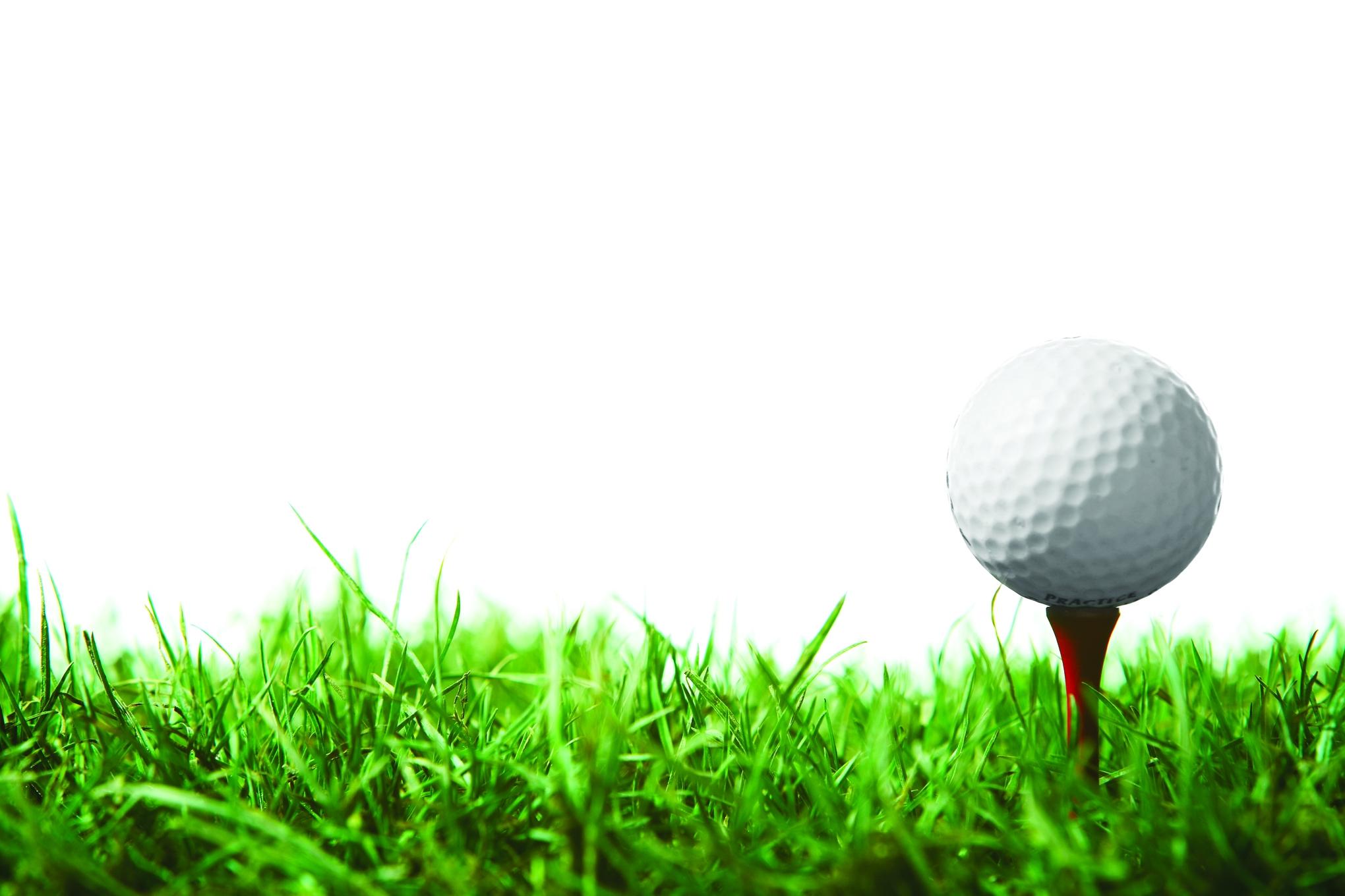 Golf clipart border