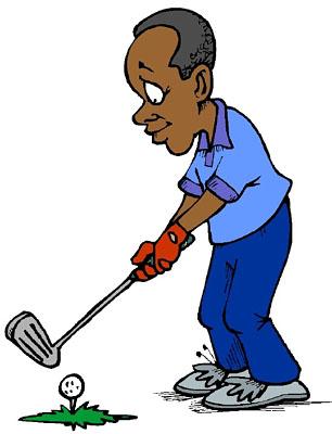 Golfer images clip art clipartfest