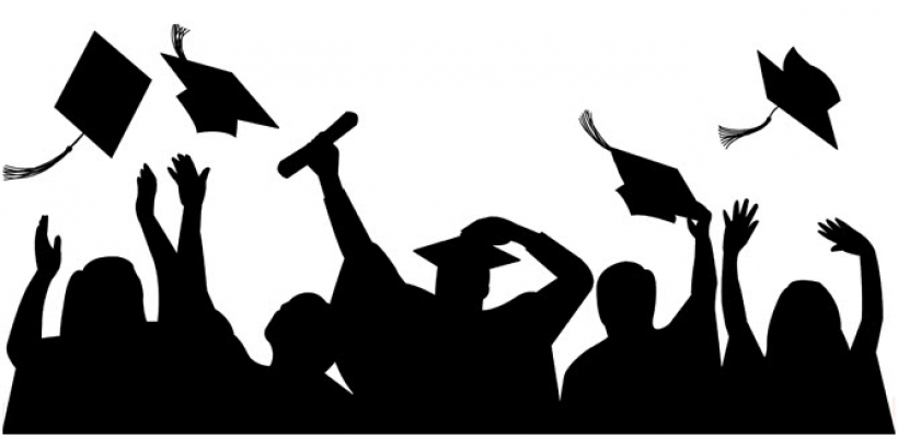 Graduate student clipart with graduation