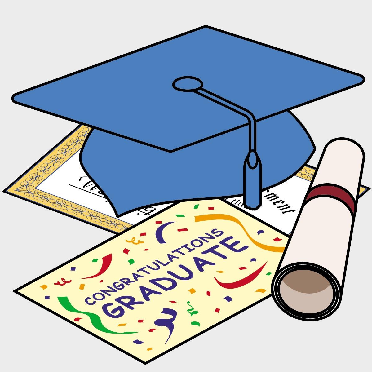 Graduation clipart clipartfest