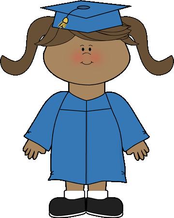 Graduation girl clipart