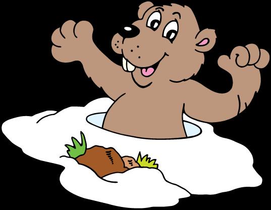 Groundhog clip art hostted