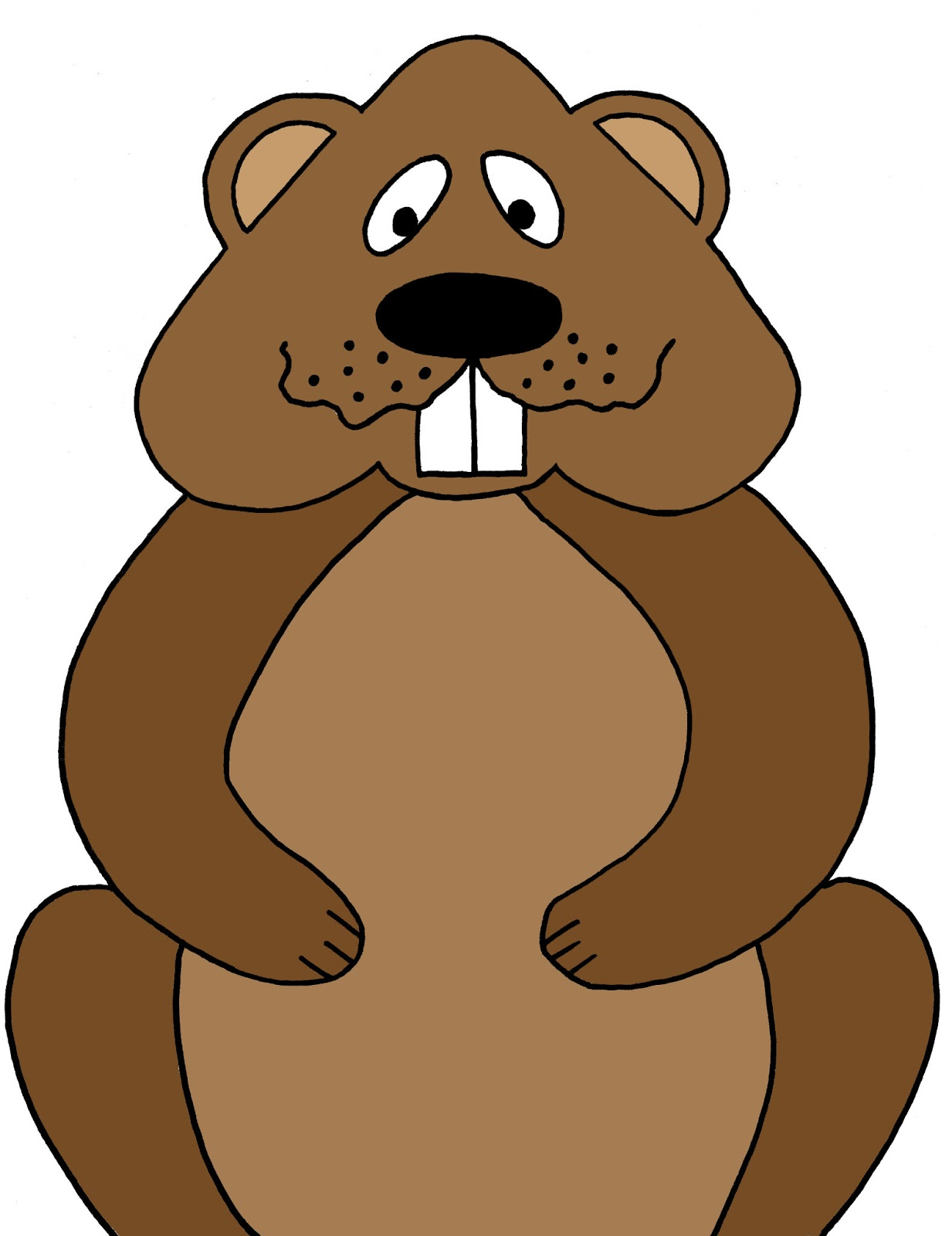 Groundhog clipart animated clipartfest