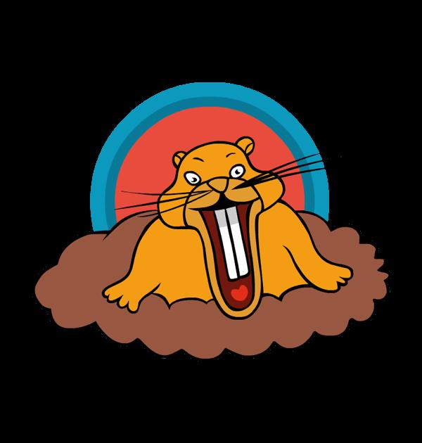 Groundhog day clip art 5