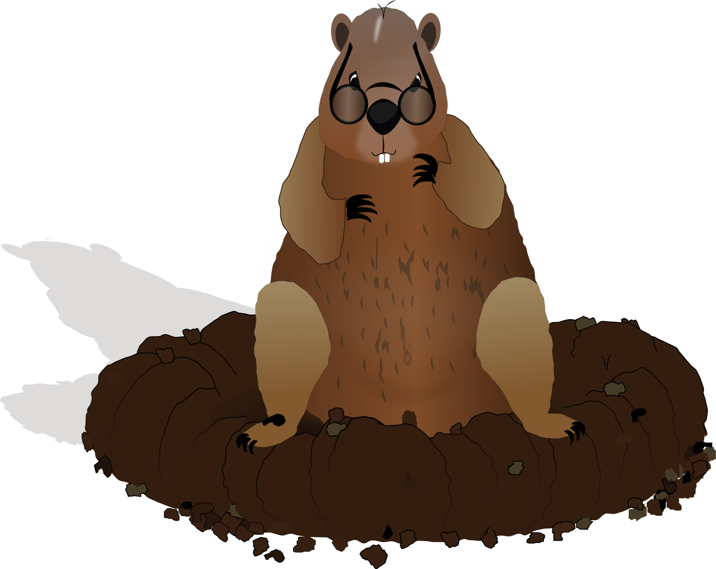 Groundhog images clipart free download clip art