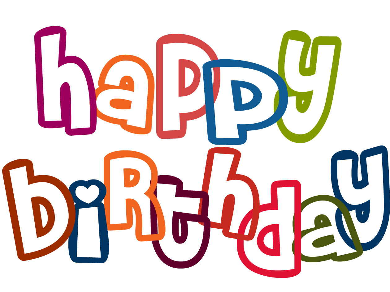 Happy birthday clipart free images