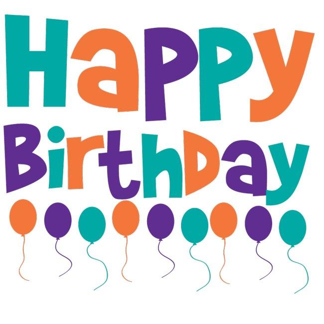 Happy birthday friend clipart 6
