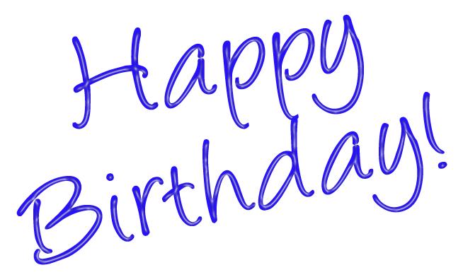 Happy birthday happy th birthday clipart