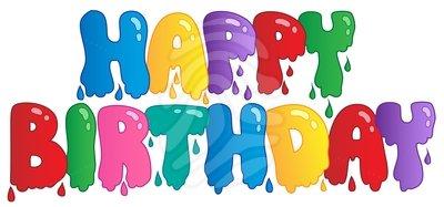 Happy birthday religious birthday clipart