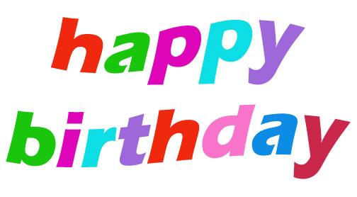 Happy birthday sister clipart 2