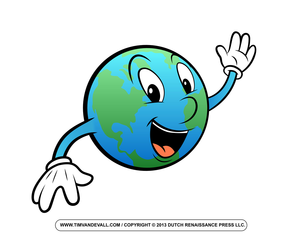 Happy earth clipart free images 6